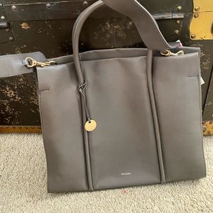 Skagen learher gray bag medium size